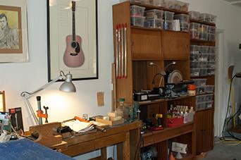 Walt Johns Guitar Repair Shop Ijamsville Maryland